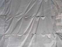 保护落的对象的帆布 免版税库存照片