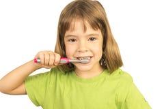 保持我的牙健康 免版税图库摄影