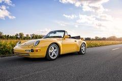 1996年保时捷911涡轮 免版税库存照片