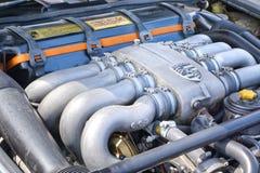 保时捷928经典之作发动机 免版税库存图片