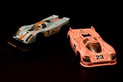 保时捷917被印模的模型 库存照片
