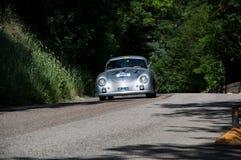 保时捷356 1500超级1952年 库存照片