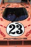 保时捷917 20辆从起绰号砰猪的1971的小轿车Sau赛车 图库摄影