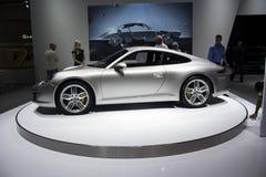 保时捷911 Carrera S侧视图 免版税库存图片