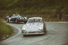 保时捷356 1500 Coupé 1952年 免版税库存图片