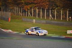 保时捷911 RSR集会汽车在蒙扎 库存照片