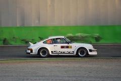 保时捷911 SC RS集会汽车在蒙扎 免版税图库摄影