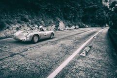 保时捷550 SPYDER RS 1955年 图库摄影