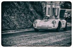 保时捷550 SPYDER RS 1955年 免版税库存照片