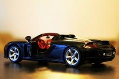 保时捷Carrera GT模型赛跑的车门户开放主义 库存图片