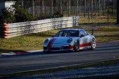 保时捷GT3R意大利人Carrera杯2015年 免版税库存照片
