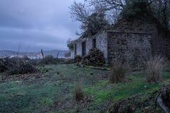 保泰松的被放弃的轮渡房子 免版税库存照片