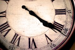 保留时间 免版税库存图片