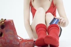 保留货币袜子 免版税库存图片
