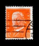 保罗・冯・兴登堡1847-1934,德国serie的总统,大约1932年 库存照片
