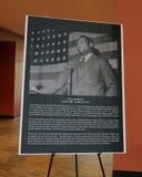 保罗・罗伯逊广场的破土动工典礼 免版税库存图片