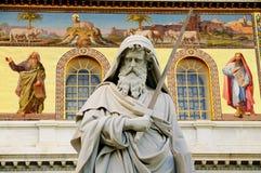 保罗・罗马圣徒雕象 免版税图库摄影