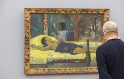 保罗・高更绘画在Neu Pinakothek在慕尼黑 图库摄影