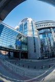 保罗亨利Spaak大厦和欧议会 图库摄影