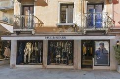 保罗和鲨鱼商店在威尼斯,意大利 图库摄影