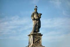 保罗圣徒雕象 免版税库存照片