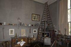 保罗塞尚演播室,艾克斯普罗旺斯,法国 免版税库存图片