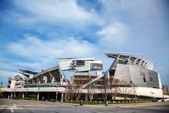 保罗布朗体育场在辛辛那提,俄亥俄 免版税库存照片