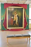 保罗画象在1个小修道院宫殿在Gatchina 库存图片