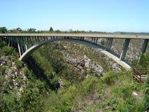 保罗绍尔河桥梁 库存图片