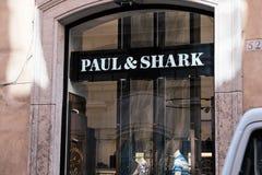 保罗&鲨鱼商店 免版税库存图片