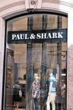 保罗&鲨鱼商店 图库摄影