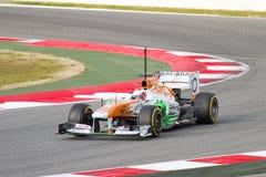 保罗Di Resta Formula 1强制印度VJM06 库存图片