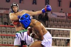 保罗Versayo - kickboxing 免版税库存照片