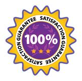 保证标签向量 免版税库存图片