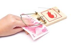 保证金捕鼠器 库存照片