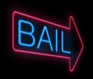 保释金符号。 库存图片