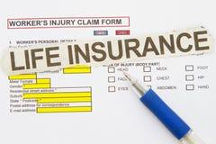 保险业 免版税库存照片