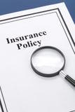 保险单 免版税图库摄影