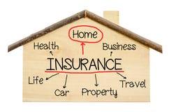 保险家庭概念 库存图片