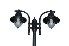 保险开关爱尔兰路灯柱照明设备街道 库存照片