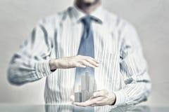 保险您的建筑投资 免版税库存图片