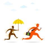 保险或安全金钱构思设计 库存图片