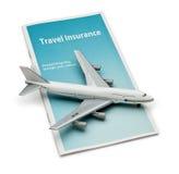 保险旅行 库存图片