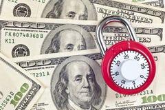 保险柜怎么是您的金钱 免版税库存照片