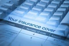 保险盖子 免版税库存图片
