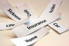 保险程序包 免版税库存图片