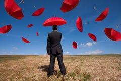 保险解决方法 免版税库存图片
