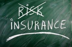保险风险 免版税图库摄影