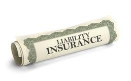 责任保险 免版税库存图片