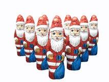 保龄球圣诞节 免版税库存图片